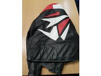 Akito leather motorcycle Jacket