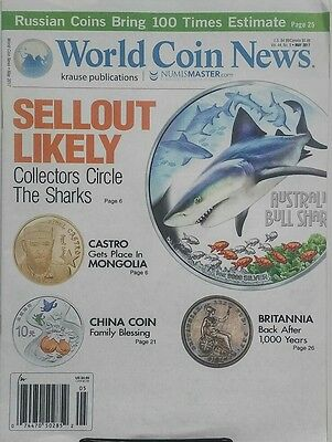 World Coin News May 2017 Sellout Likely Circle The Shark Castro Free Shipping Sb