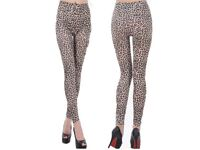 nique Womens Animal Print Casual /Club Leggings Pants 8-12