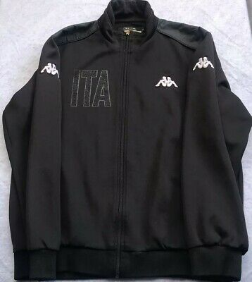 EUC Men's full zip KAPPA Italy casual jacket Size men's  Large