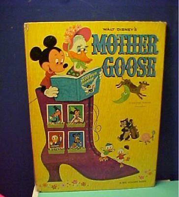 1972 A Big Golden Book Walt Disney's Mother Goose