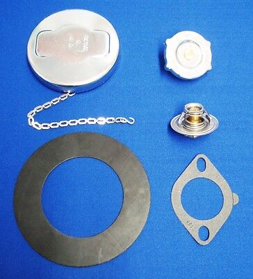 Lot Lincoln Sa 200 Welder Fuel Gas Cap 7lb. Radiator 160 Deg Thermostat & Gasket