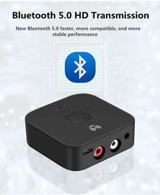 Wireless Bluetooth 5.0 Receiver RCA aptX LL NFC 3.5mm Jack A