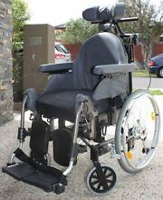 Adjustable cushioned Wheelchair Bentleigh East Glen Eira Area Preview