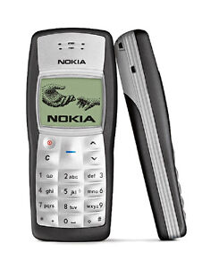NEW IN BOX NOKIA 1100 B BLACK UNLOCKED GSM CELLULAR PHONE