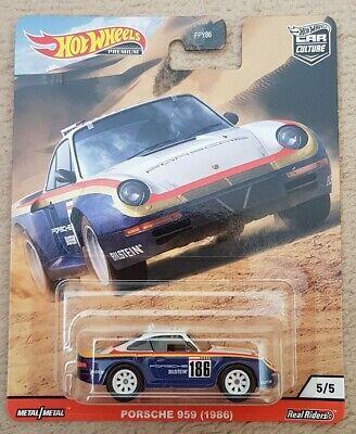 Hot Wheels 2020 Car Culture WILD TERRAIN Porsche 959 (1986) NEW