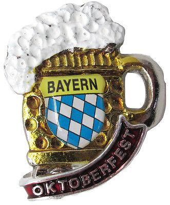 German Hat Pin: German Beer Stein with Oktoberfest