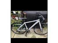 Very light cycle Boardman hybrid comp bike used once then stored. Bicycle collect Ng5