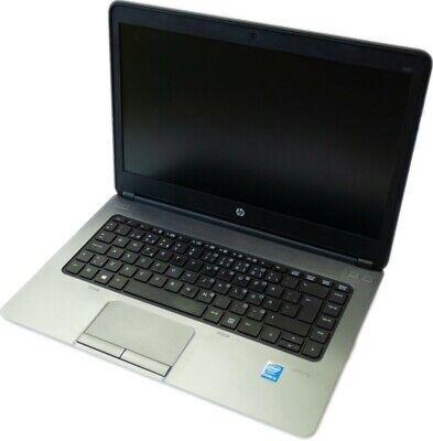 "HP ProBook 640 G1 14"" Laptop i5 8GB RAM 128GB SSD Windows 10 German K/B Grade A"