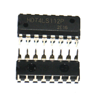 5x 74ls112 Hot Sale Dual Jk Flip-flop Dip-16 Negative-edge Ic Hym Hot Sale