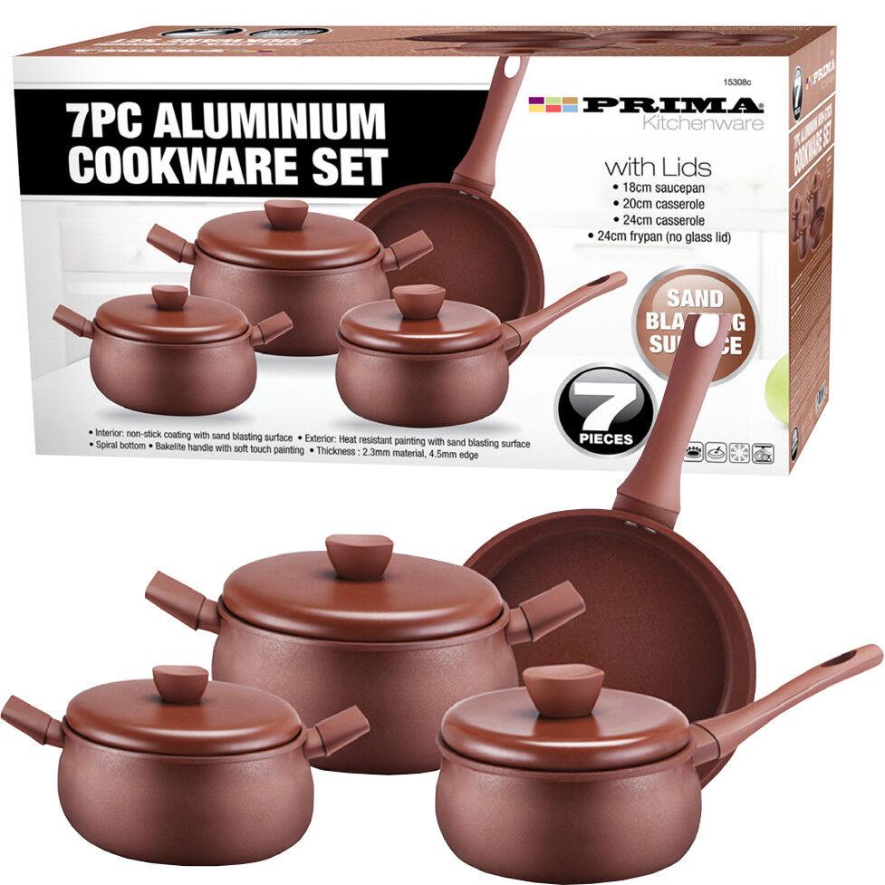 Camping Cookware Frying Pan Skillet Stew Bowl Spoon Cooking Saucepan Set