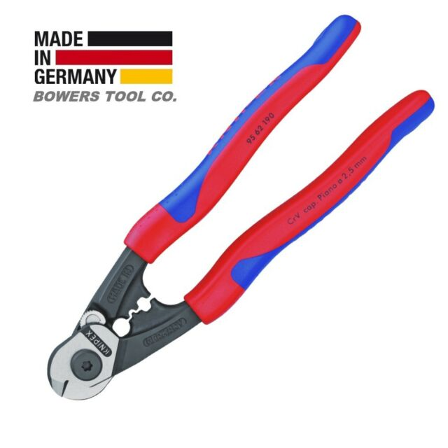 KNIPEX Tools 95 62 190 Wire Rope Cutters | eBay