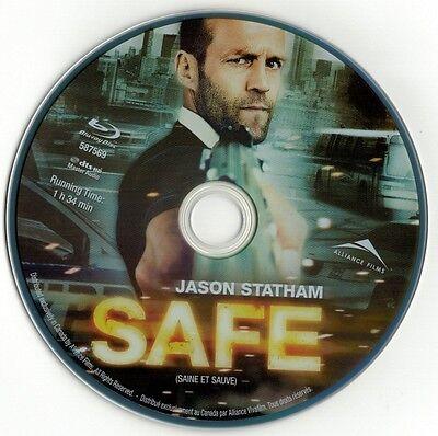 Safe  Blu Ray Disc  Jason Statham