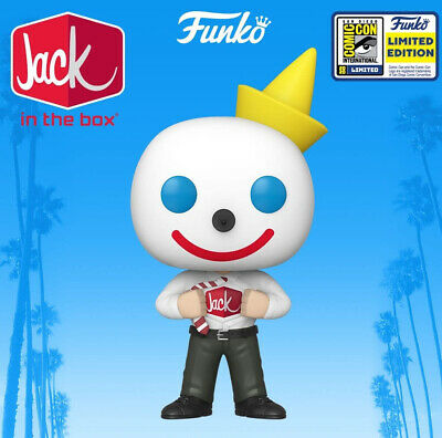 Funko Pop! Jack In The Box SDCC Shared Exclusive PREORDER