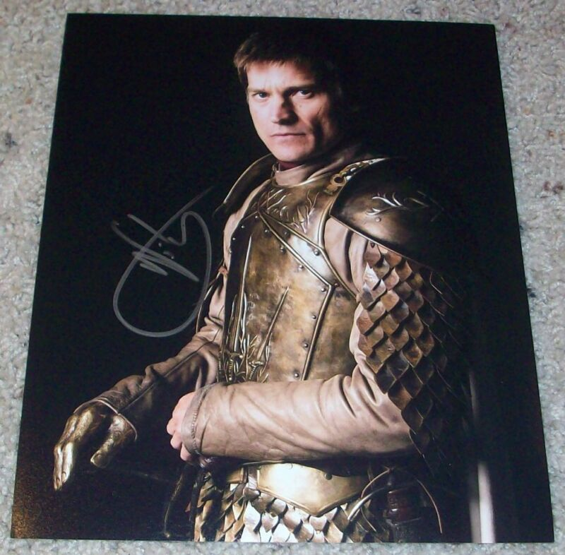 NIKOLAJ COSTER-WALDAU SIGNED GAME OF THRONES 8x10 PHOTO H w/PROOF AUTOGRAPH