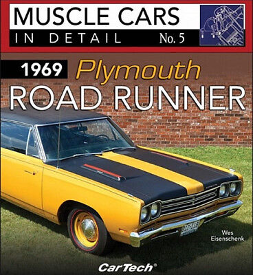 Muscle Cars In Detail No.5 1969 Plymouth Road Runner - Book CT580