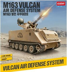 1/35 M163 Vulcan Air Defense System #13507 Academy Model Kit With Free Gifts
