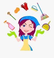 Cleaning Lady for hire