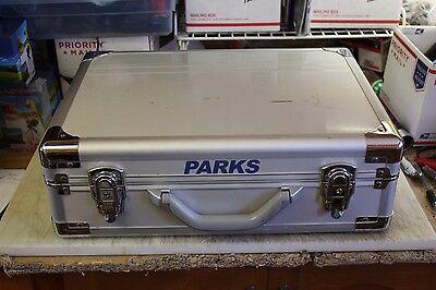 Parks Aluminum Telescope Accessories Locking Metal Case - USED