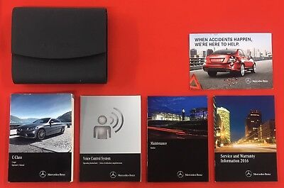 2016 MERCEDES BENZ C Class COUPE Owners Manual C250 C300 C350 Coupe C43 C63 AMG