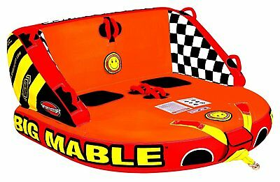 Sportsstuff Big Mable Inflatable Double Rider Towable Tube (53-2213)