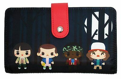LOUNGEFLY STRANGER THINGS WALLET - NFXWA0011 - NEW WITH TAGS