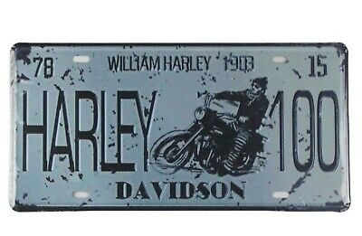 Harley Decor (US SELLER, William Harley 1903 vintage tin sign home decor interior)