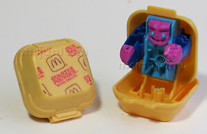 LOOSE McDonalds 1989 New Food Changeables QUARTER POUNDER Burger Robot TRANSFORM