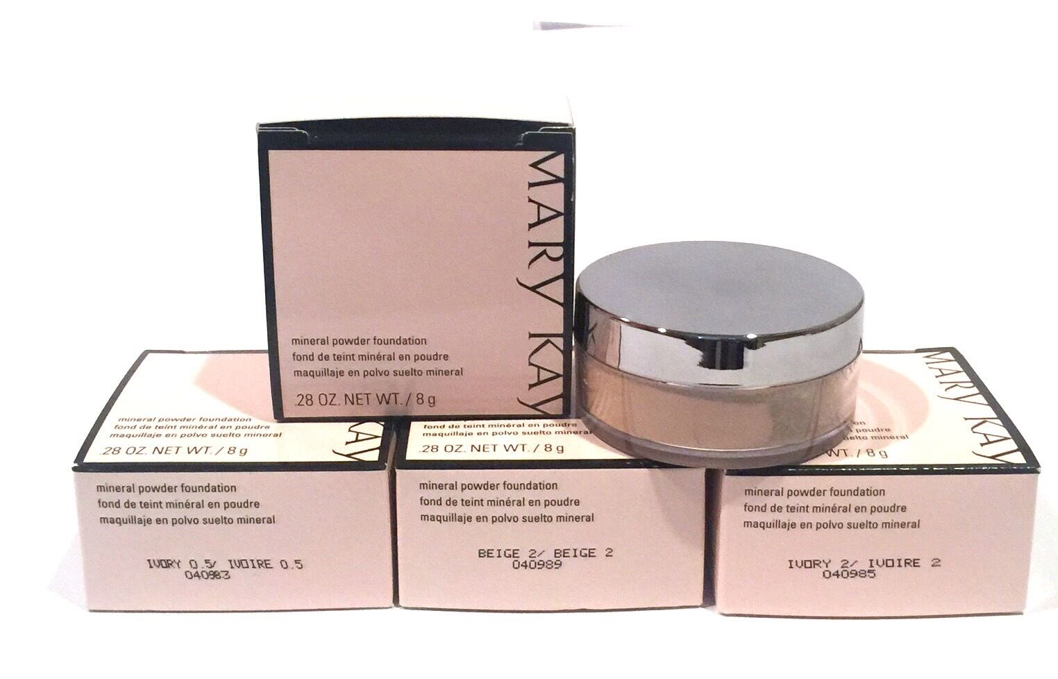 MARY KAY MINERAL POWDER FOUNDATION~YOU CHOOSE SHADE~IVORY~BE