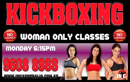 Ladies Only Kickboxing Cartwright Liverpool Area Preview
