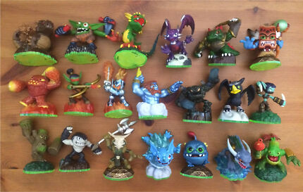 Skylanders Game Character Figures Regular & Mini From $3 - $5