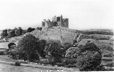 THE ROCK OF CASHEL CO. TIPPERARY IRELAND RP IRISH POSTCARD