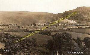 Ilfracombe Railway Station Photo. Mortehoe, Braunton and Barnstaple Line. L&SWR