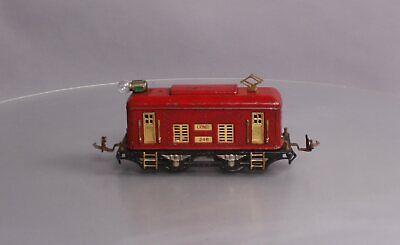 Lionel 248 Vintage O Prewar 0-4-0 Tinplate Powered Electric Locomotive