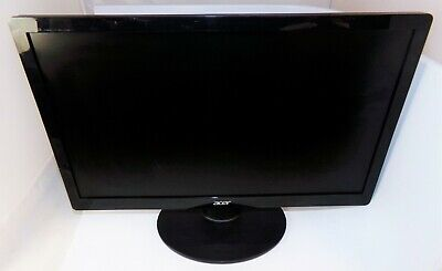 "Acer S200HQL 20"" Widescreen LED Backlit LCD Monitor Good Condition"