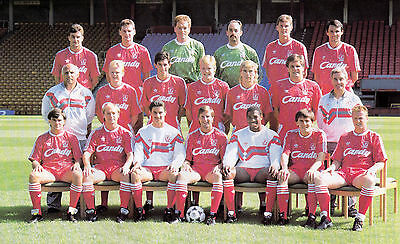 LIVERPOOL FOOTBALL TEAM PHOTO>1988-89 SEASON