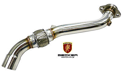 Becker Performance Stainless Downpipe For 1974-89 Porsche 911 Turbo 3.0 3.2 3.3L