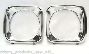 HOLDEN-TORANA-BATHURST-JP-LJ-GTR-XU1-ALUMINIUM-HEAD-LIGHT-HEADLIGHT-SURROUNDS