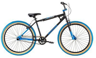 Mongoose Grudge BMX Freestyle bike, single speed, 26 inch wheels, mens, black
