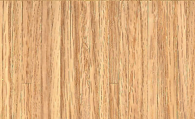 1:12 Scale Real Wooden Thin Strip Flooring Dolls House Miniature 43cm x 28cm