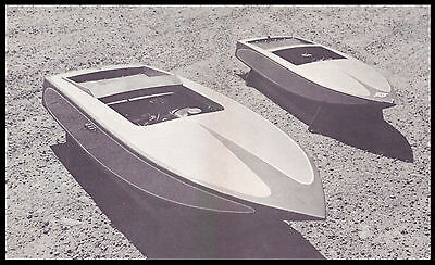 Vintage 1/5 Scale Racing Cracker Box Model Boat Plans, Templates, Instructions