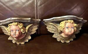Angel wall sconces