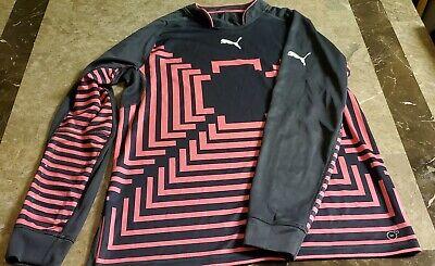 463a9d27547 Puma GK GoalKeeper Jersey gray pink XL soccer  35