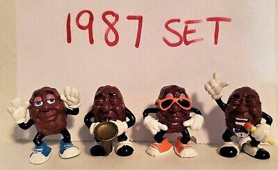 1987 California Raisins Hardee's Original Series #1 PVC Figure Vintage Toys