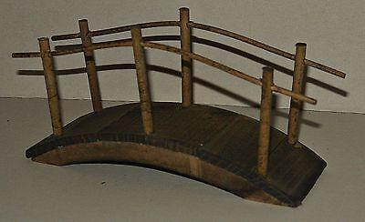 Holzbrücke  , 1:12 - Puppenmöbel , Puppenstuben