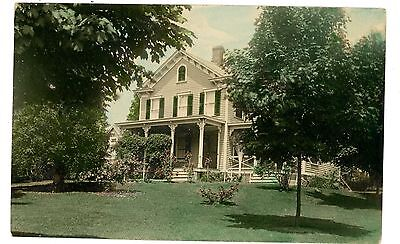 Bernardsville Nj Early Colonial House For Sale Rppc Postcard
