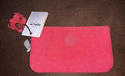 Kipling Vibrant Pink New With Tags Small Cosmetic Bag