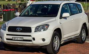 2008 Toyota RAV4 4WD AUTO 5 SEATER Wagon Wollongong Wollongong Area Preview