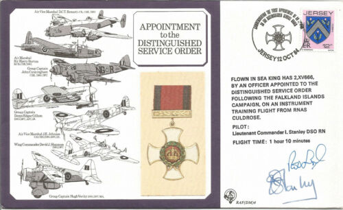 Appointment to the Distinguished Service Order multisigned RAF cover. AY933