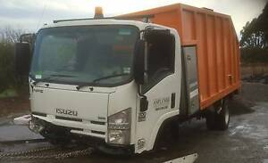 Wrecking 2012 Isuzu NPR - NPS 300 Chipper Tipper - parts from Romsey Macedon Ranges Preview